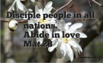Disciple People In All Nations