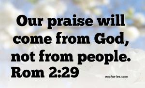 God's Praise, God's Judgement