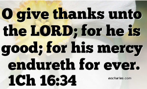 Thank You God, For Your Eternal Love.