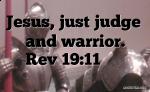 Jesus, Judge and Warrior