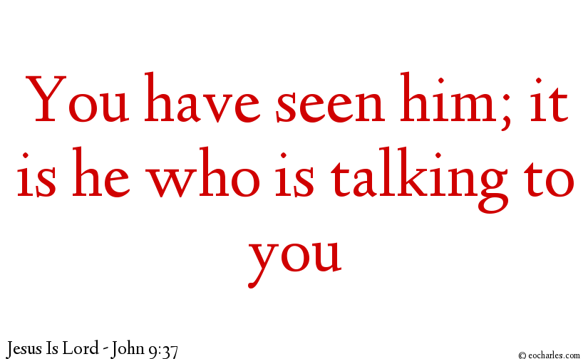 I am talking to you