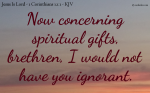 Teach And Learn About Spiritual Gifts