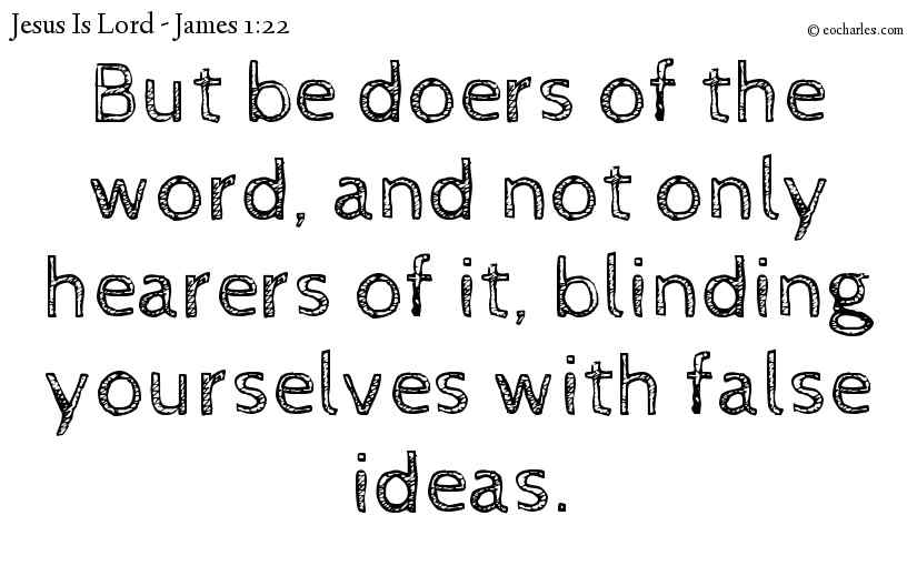 Be Doers Of The Word Of God