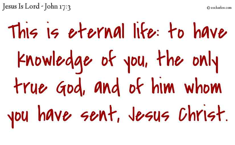 Eternal Life by Intercession