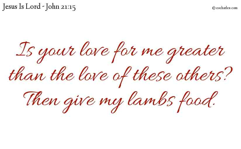Serve and Love Jesus