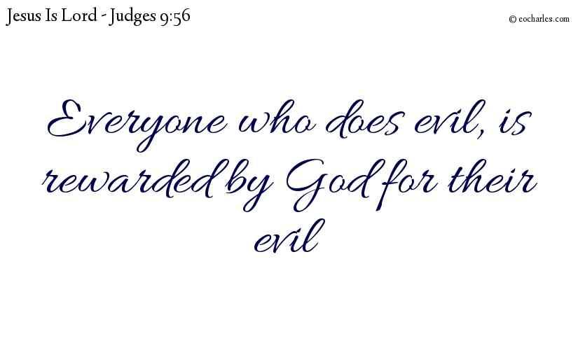 God rewards everyone for their work