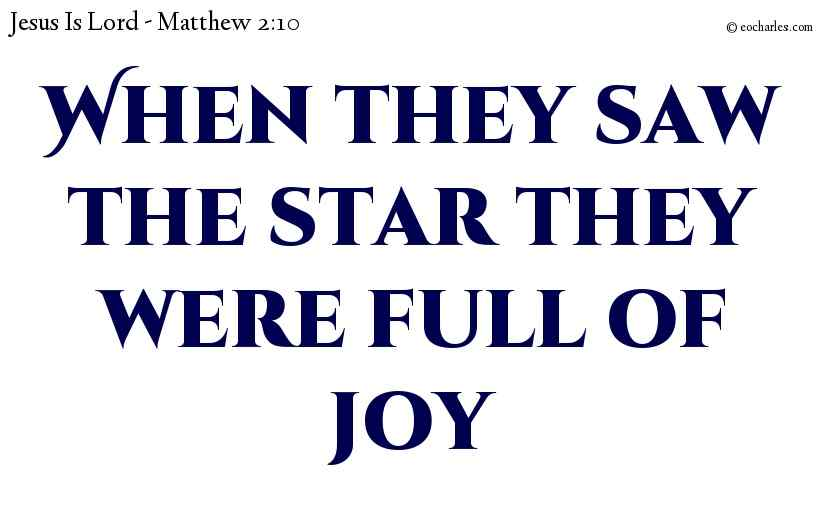 Find Jesus, and be filled with joy.
