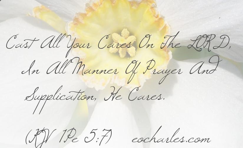 Pray To God, He Cares