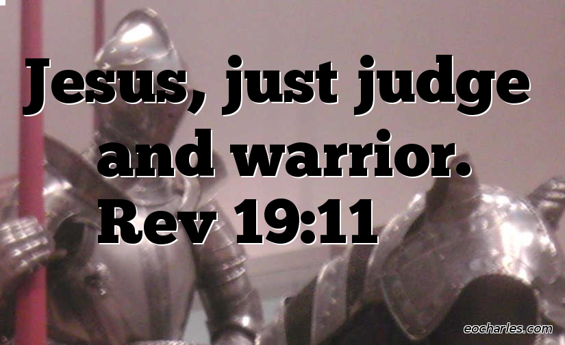 Jesus, Judge and Warrior