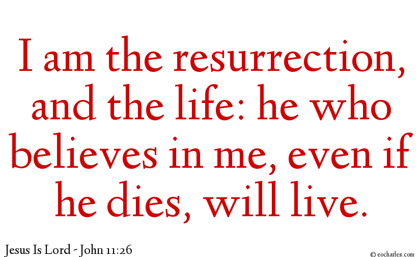 Jesus Is The Resurrection