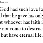 John 3:16 This Is How God Loves‏