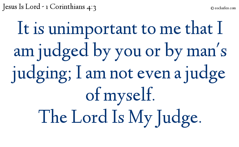Judgement By God Is Important