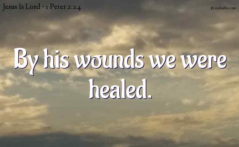 By his wounds we were healed.