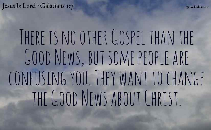 We preach the Gospel Of Jesus Christ by the Revelation of Who He Is.
