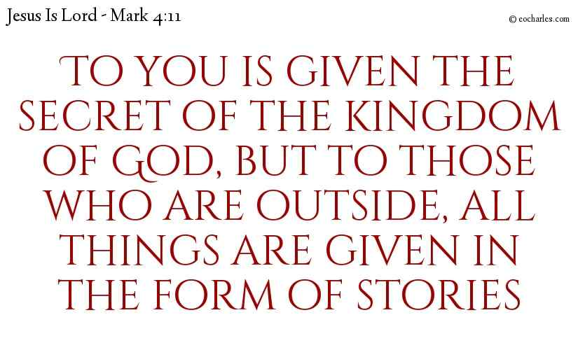 Parables Of The Kingdom Of God