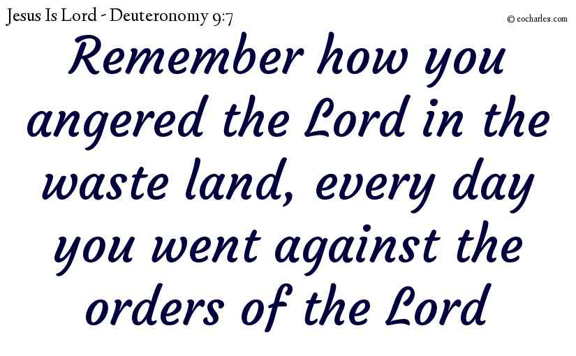 Remember God's Grace, And Your Stubbornness