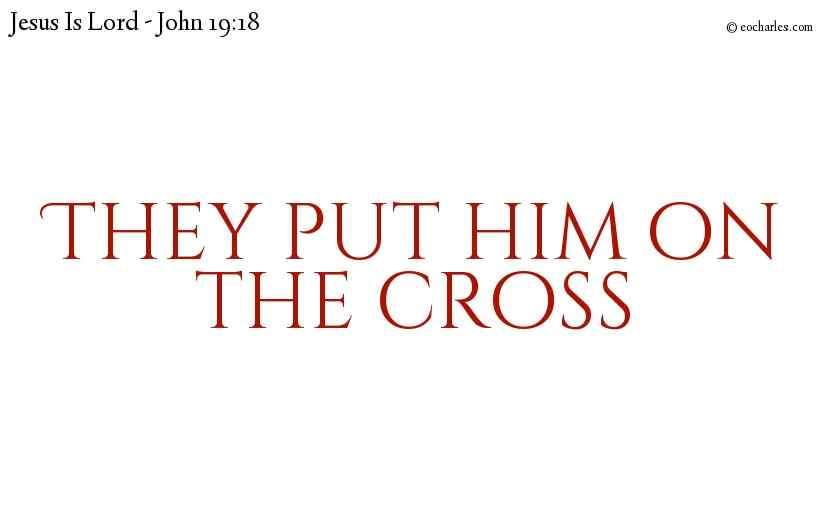 The death of Jesus on the cross fulfilled every sacrificial ceremony