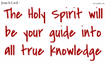 The Holy Spirit, your helper