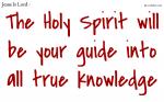 The Holy Spirit, your helper