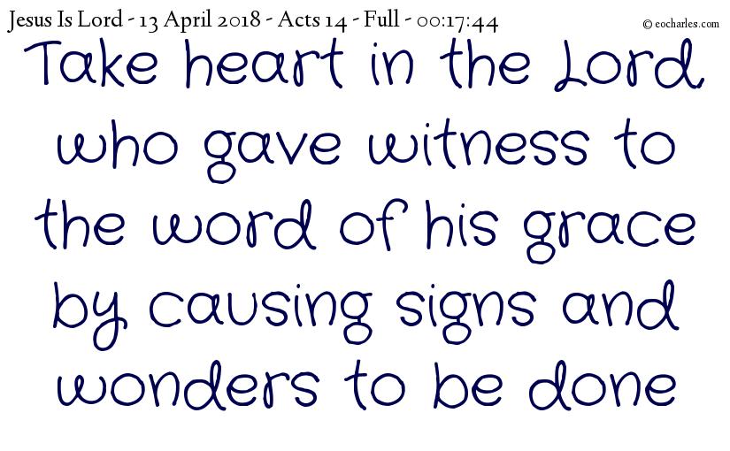 Witness Boldly