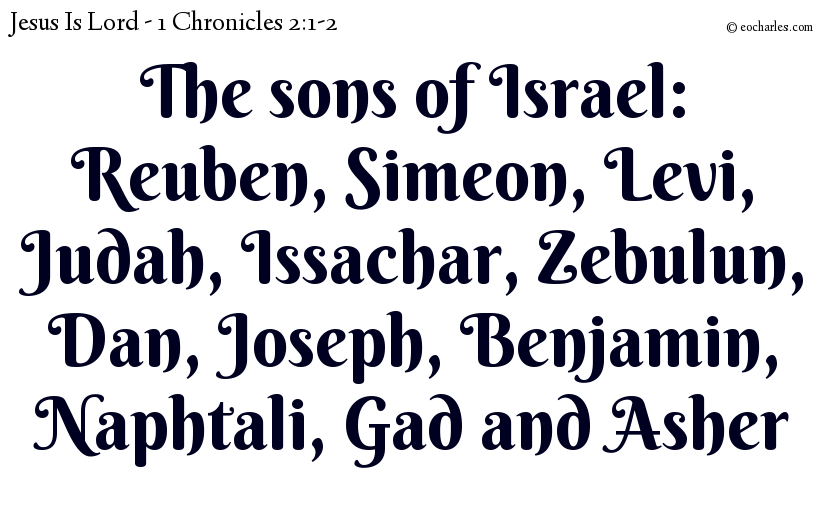 The sons of Israel