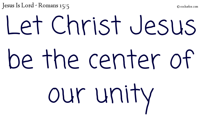 United in the good news of Jesus Christ