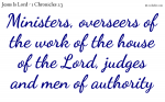 Every christian has work in the service of God