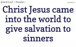 Be a true witness; preach the true doctrine.