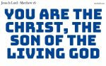 Jesus Christ; the foundation of Christianity