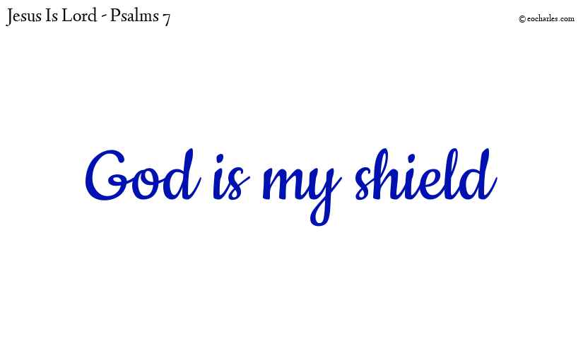 God is my shield