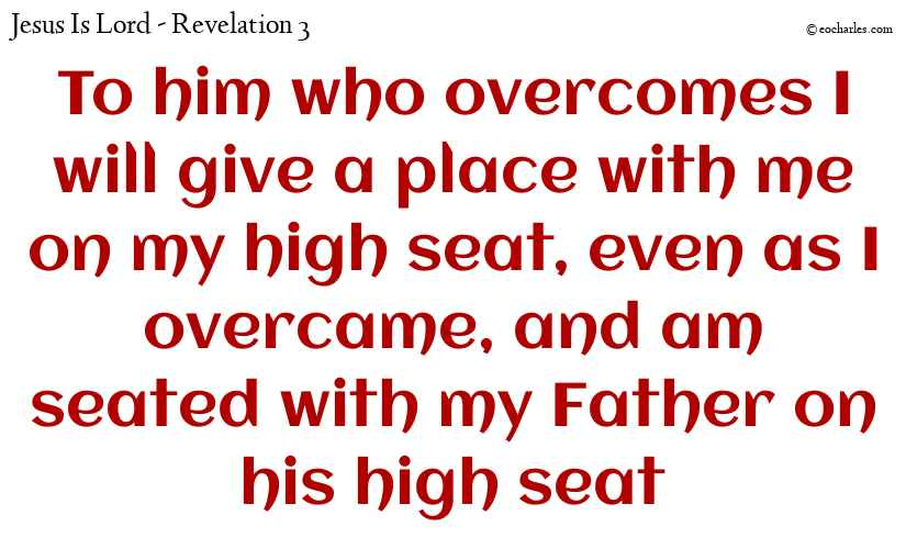 Overcome! The message of Jesus to us