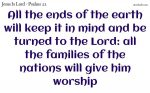 All will give him worship