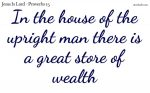 A great store of wealth