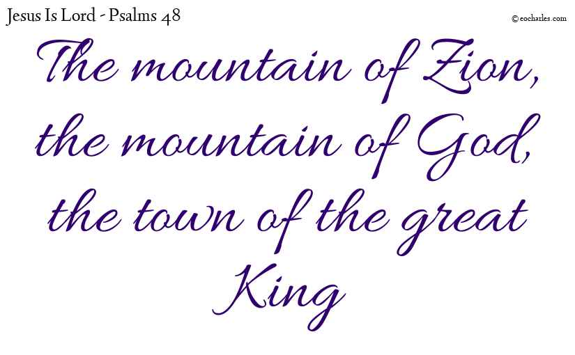 The mountain of God