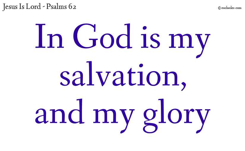 In God is my salvation