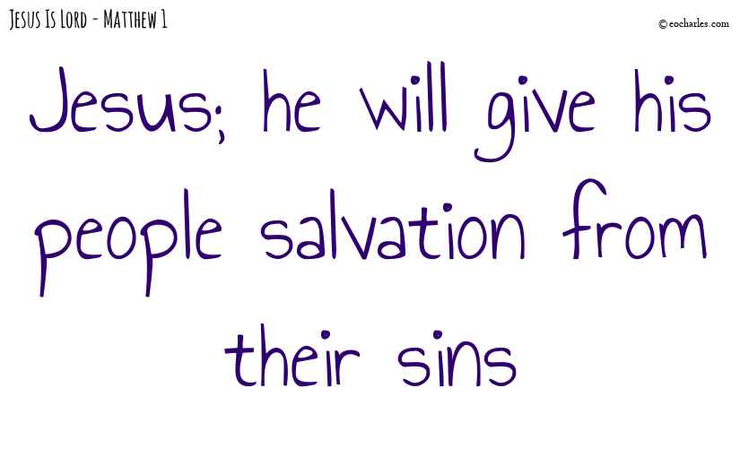 Jesus; salvation for all