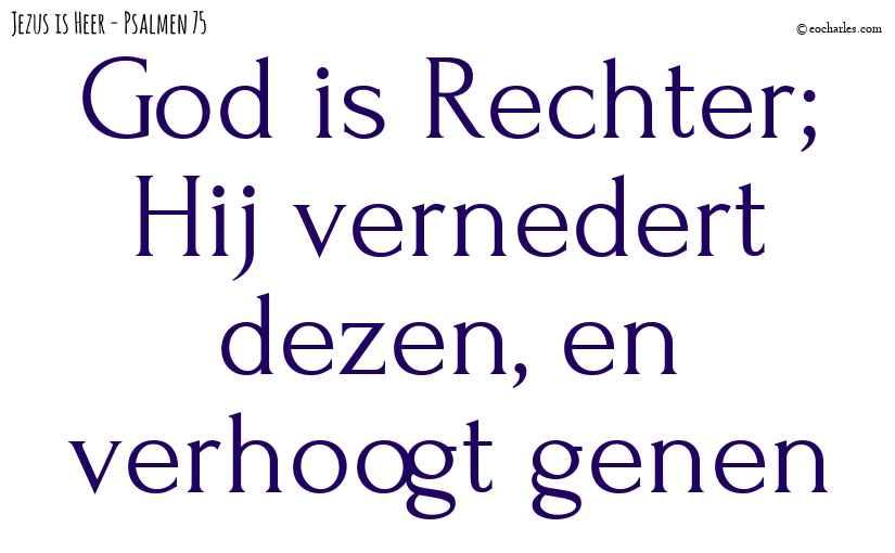 God is Rechter
