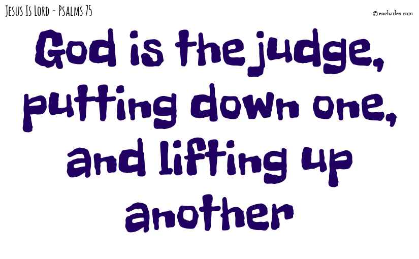 God is the judge