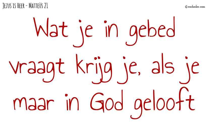 Gelooft