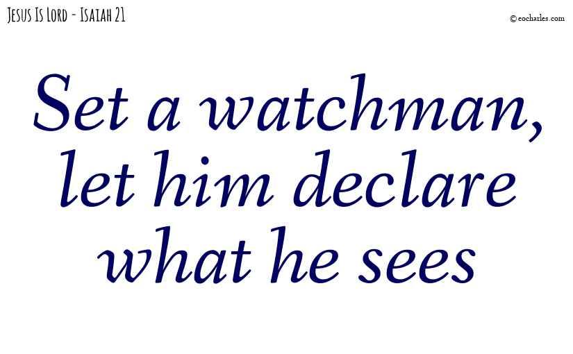 Set a watchman