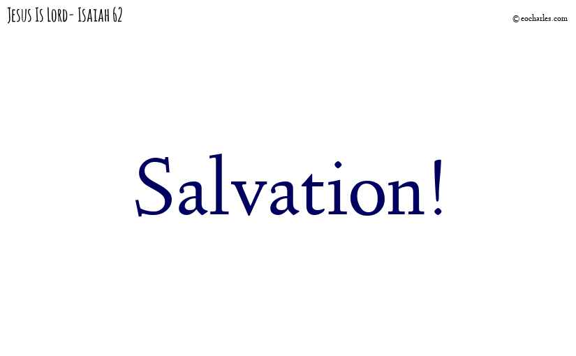 Salvation!