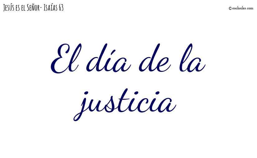 El día de la justicia