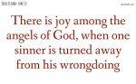 Joy among the angels of God
