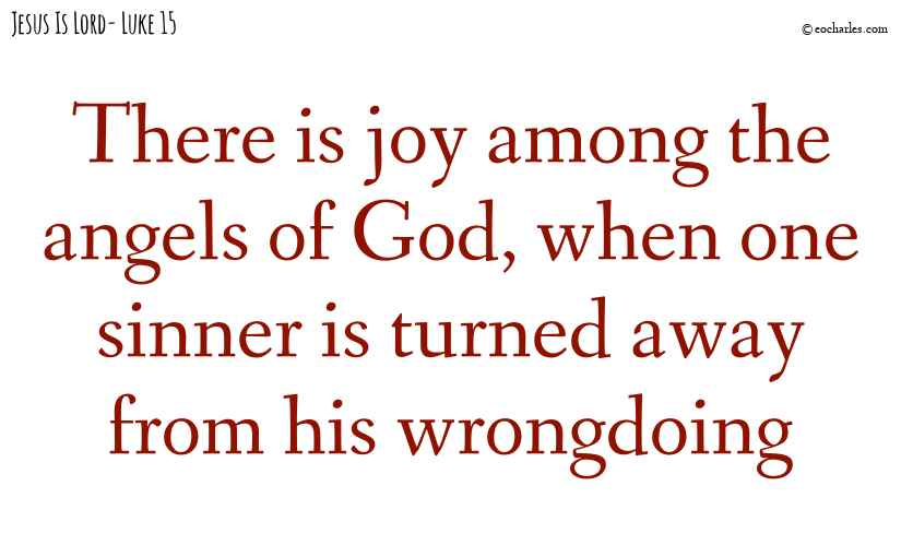 Joy among the angels of God