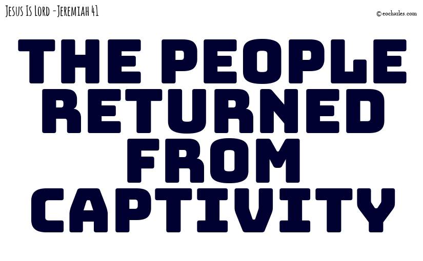 Returned from captivity